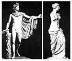 Belvederi Apollón; Milói Vénusz