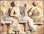 Poszeidón, Apollón és Artemisz