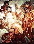 Héraklész megtalálja fiát